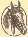 Horseheath Horse Head Logo