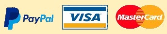 Paypal, Visa, Master Card Log